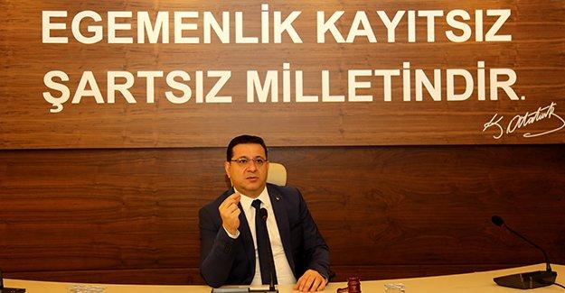 Başkanımız Eken'in 30 Ağustos Zafer Bayramı Mesajı